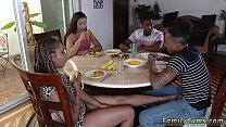 Tiny teen facial and amateur white black Family Betrayals