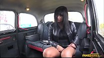 Lucky sexy lady Tera Joy takes a free ride and fucks the driver pornhub video