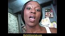 Cute Amateur Black Girl Sucks off Big White Dong 14 Thumbnail