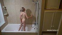 Kira In The Shower