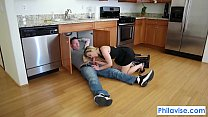 PHILAVISE-A plumbers lucky day with Blaten Lee - Download mp4 XXX porn videos