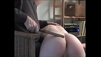 My second spanking and fucking