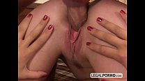 Two horny brunettes having a threesome with a big cock GB-3-03 Vorschaubild