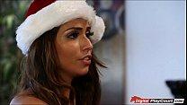 Naughty Latina babe Isabelle de Santos masturbates and fucks