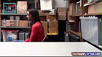 To Keep Clean Record Teen Shoplyfter Gets Dirty thumbnail
