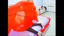 国产丝袜高跟情趣露脸道具插逼秀淫语不断高潮 原味非常接地气的农村低俗艳舞表演 预览视频 (Trailers) thumbnail