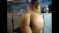 sexydea flashing ass on live webcam