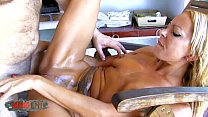 Blonde Milf brutal fuck in her ass and squirting Preview