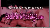 Nuru masseuse l icks in 3way