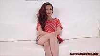 Petite Lyla Letto bouncing on monster BBC before facial - 69VClub.Com