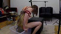 Enema with Rope Bondage and Suspension