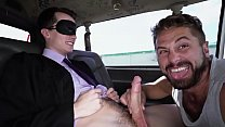 BAIT BUS - Young Graduate Str8 Bait Alex Meyer Gets Fucked By Wesley Woods