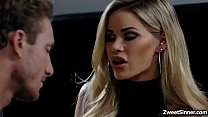 5159 Hot employee Ryan Mclane went to her boss house and met his boss seductive wife Jessa Rhodes,he cant resist her charm and start fucking her pussy. preview