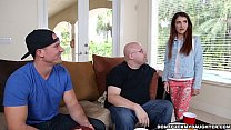 Teen Sally Squirt Gets Dicked Down by Daddy's F... thumb
