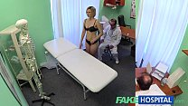 FakeHospital New doctor gets horny MILF naked and wet with desire video