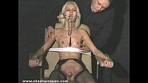 Blonde submissives bizarre facial and gagged slavegirls extreme bdsm Vorschaubild