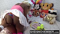 15638 Push Your Finger Into My Nasty Asshole Daddy & Sweet Ebony Pussy Love That Shit Msnovember HD Sheisnovember preview