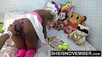 8503 Push Your Finger Into My Nasty Asshole Daddy & Sweet Ebony Pussy Love That Shit Msnovember HD Sheisnovember preview