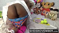 15942 Push Your Finger Into My Nasty Asshole Daddy & Sweet Ebony Pussy Love That Shit Msnovember HD Sheisnovember preview