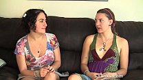 Yanks Lesbians Sage And Simona talking pornhub video