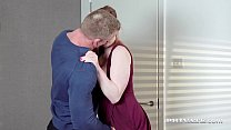 Private.com - Gorgeous Redhead Carly Rae Fucks At Breakfast! image