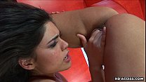 sex xvedios.com - Sizzling hot teen bitches fingering the shaven cunt thumbnail