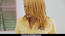 InnocentHigh - Teen Skips School and Fucked By Principal Image