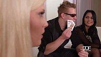 Strip Poker Foursome 3 Chicks 1 Happy Dick - 9Club.Top
