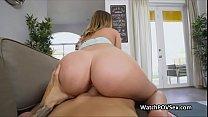 Bubble butt gf cheats on video