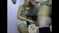Tattoed Whore Dancing - BasedCams.com video