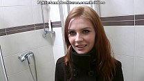 Redhead With Innocent Face Doing Perverted Stuf