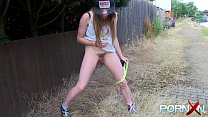 PORNXN Samantha Bentley Pissing in Public Thumbnail