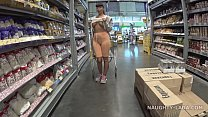 indianauntysexvideos | cameltoe and flashing in the supermarket thumbnail