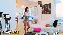BANGBROS - Amara Romani Cleans House And Takes It Up The Ass To Pay The Rent