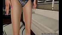 Two sexy 3D cartoon lesbian hotties getting it on - Download mp4 XXX porn videos
