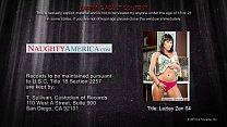 Nasty cougar Lezley Zen gets facialized - VideoMakeLove.Com