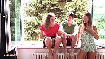 young teens threesome fun mmf
