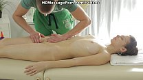 Angel-like Mary goes for dirty massage fucking scene 1 preview image