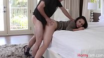 Stepmom Soothes My erection- Crystal Rush