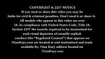 Hot Blde Nina Kayy Shakes Her Big Ph Ass For You! - 9Club.Top