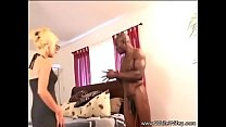 Blonde Wife Rides BBC Reverse Cowgirl