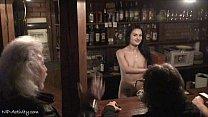 Crazy Nikol Vanilla naked on public streets video