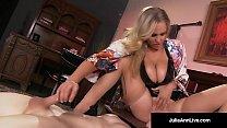 Mega Hot Milf Julia Ann Abuses Her Slave Boy!  - 10