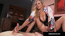 Mega Hot MILF Julia Ann Abuses Her Slave Boy! pornhub video