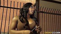 Ebony Tamra Millan Wants Big White Cock Thumbnail