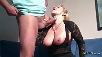 German Step-Mom Want His Big Cock and Seduce him to Fuck her Vorschaubild