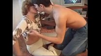 Old woman & young cock