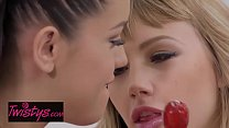When Girls Play - (Alina Lopez, Ivy Wolfe) - Tongue Twister - Twistys video