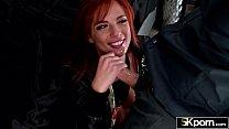 5KPorn - Cute Redhead Scarlett Mae Loves Cock