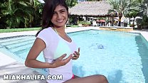 MIA KHALIFA - In A Bikini, Getting Interviewed, and Having Sex... Fuck Yeah.